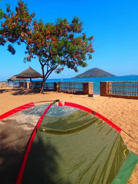 Backpacking Africa Cost, Backpacking in Malawi, Sleeping in a Tent by Lake Malawi