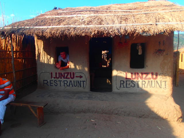 Backpacking Africa Cost | Local Style Cheap Restaurant