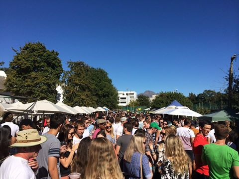 Beer festival in Stellenbosch, South Africa, Backpacking Africa for Beginners
