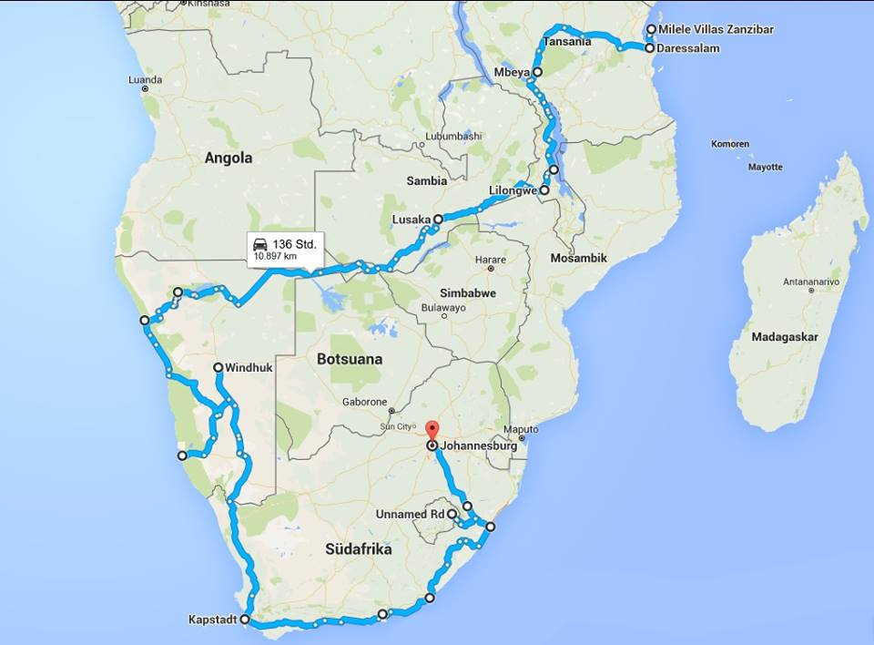 Route Traveling Africa, Backpacking Europe, Backpacking Africa for Beginners