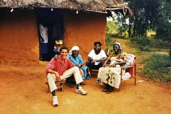 Obama in Kenya, celebs in Africa
