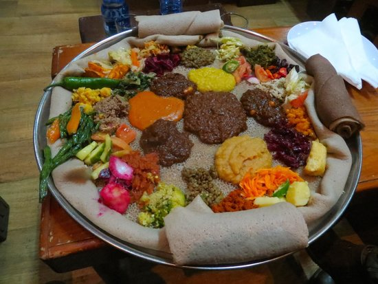 Yod Abyssinia, Ethiopian food, backpacking Ethiopia, layover in Addis ababa,