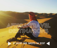African travel destinations 2017