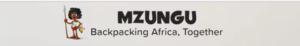 Backpacker in Africa